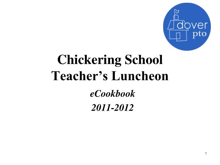 chickering school teacher s luncheon n.