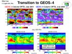 transition to geos 44