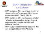 map imperative key elements