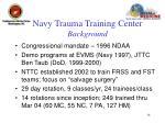 navy trauma training center background