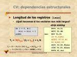 cv dependencias estructurales11