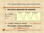cv dependencias estructurales6
