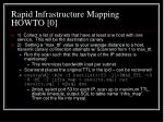 rapid infrastructure mapping howto 0