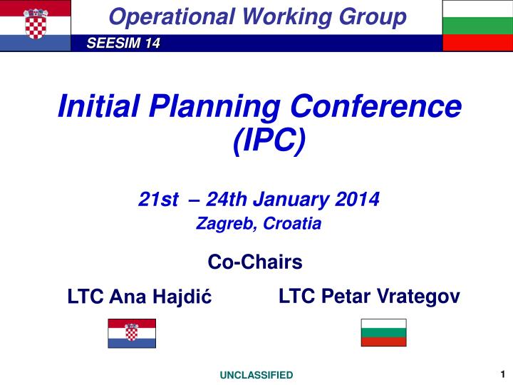 operational working group n.