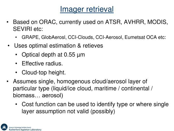 Imager retrieval
