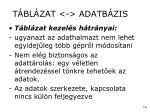 t bl zat adatb zis3