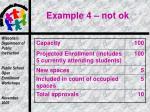 example 4 not ok