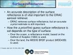 surface reflectance
