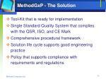 methodgxp the solution