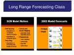 long range forecasting class8