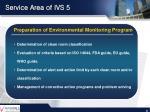 service area of ivs 5