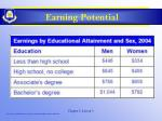 earning potential