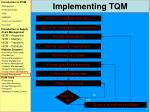 implementing tqm