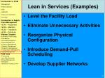 lean in services examples1