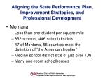 aligning the state performance plan improvement strategies and professional development3