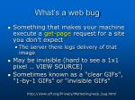 what s a web bug1