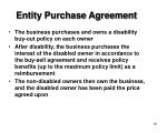 entity purchase agreement