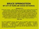 bruce springsteen my city of ruins mi ciudad en ruinas1