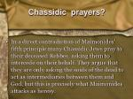 chassidic prayers