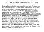 l dolce dialogo della pittura 1557 iv