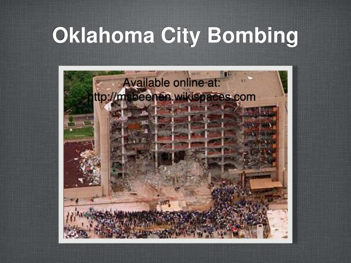 oklahoma city bombing n.