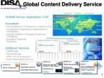 global content delivery service
