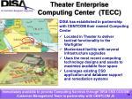 theater enterprise computing center tecc