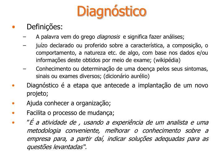 Diagn stico