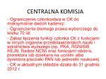 centralna komisja