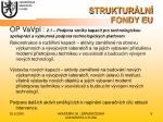 struktur ln fondy eu8
