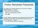 firefox remember passwords2
