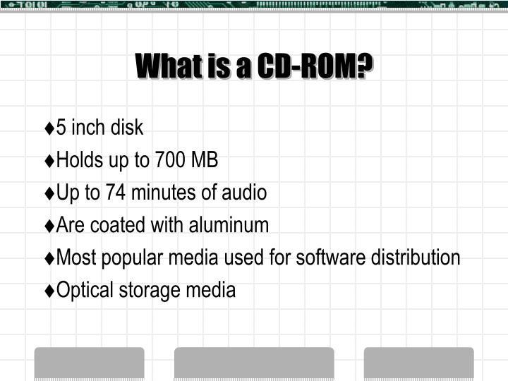 what is a cd rom n.