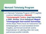 nemzeti tehets g program2