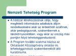 nemzeti tehets g program3