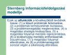 sternberg inform ci feldolgoz si modellje1