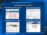 professional elp examples