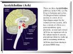 acetylcholine ach