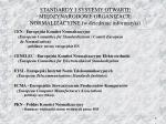 standardy i systemy otwarte mi dzynarodowe organizacje normalizacyjne w dziedzinie informatyki2