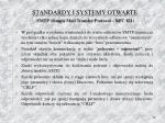 standardy i systemy otwarte smtp simple mail transfer protocol rfc 8211