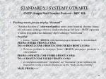 standardy i systemy otwarte smtp simple mail transfer protocol rfc 82110