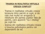 trairea in realitatea virtuala creaza conflict