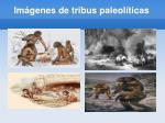 im genes de tribus paleol ticas