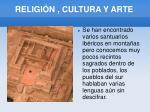 religi n cultura y arte