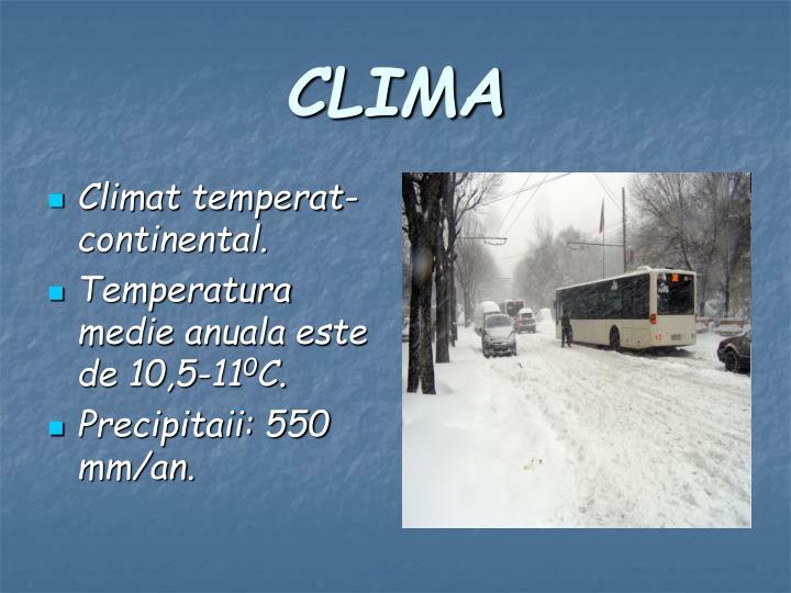 Climat temperat-continental.