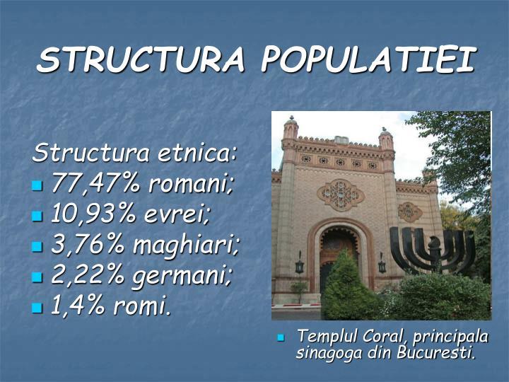 Structura etnica: