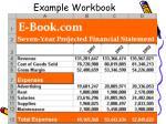 example workbook