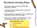 workbook grading rules