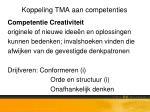 koppeling tma aan competenties1