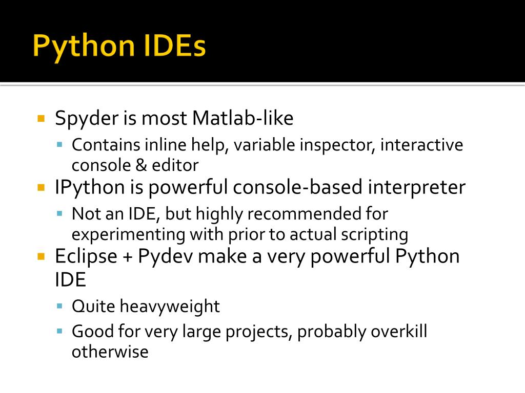 PPT - Introduction to Python PowerPoint Presentation - ID:4536199