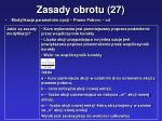 zasady obrotu 27